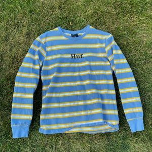 HUF Krueger Striped Long Sleeve T-Shirt